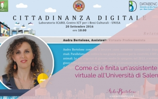 CITTADINANZA DIGITALE UNIVERSITÀ' SALERNO