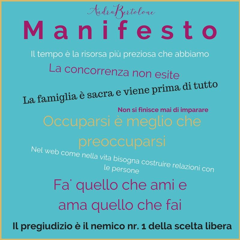 manifesto e codice etico Assistente virtuale