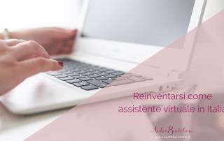 Assistente virtuale in italia