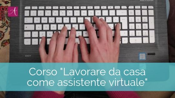 Copertina corso lavorare da casa come assistente virtuale